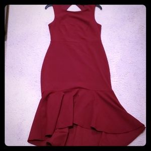 Vici  red cocktail dress